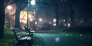 fotografía de noche