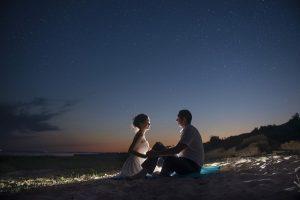 foto nocturna de película