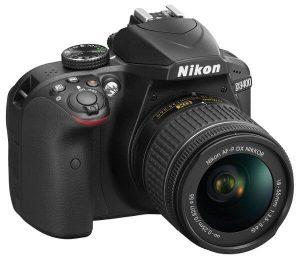 Cámara Nikon modelo d3400