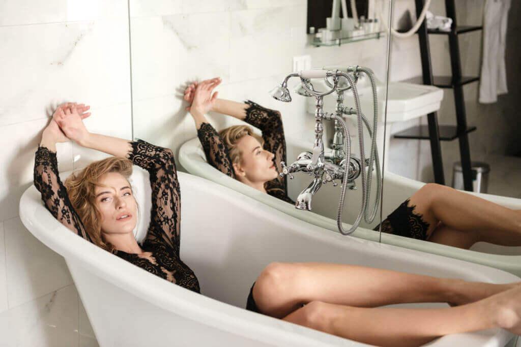 fotografía boudoir poses