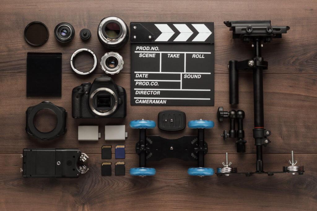 estabilizador de video accesorios