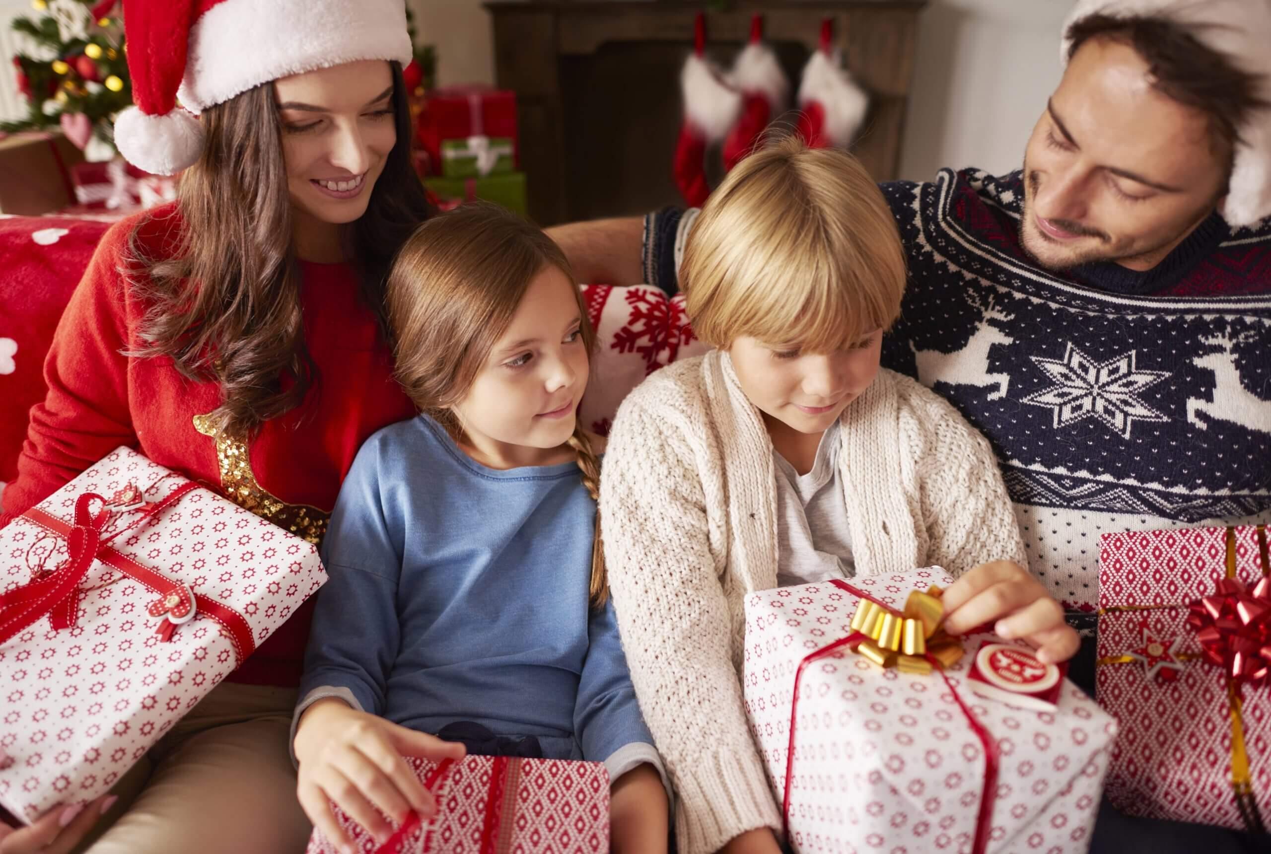 sesiones de fotos familiares navidad